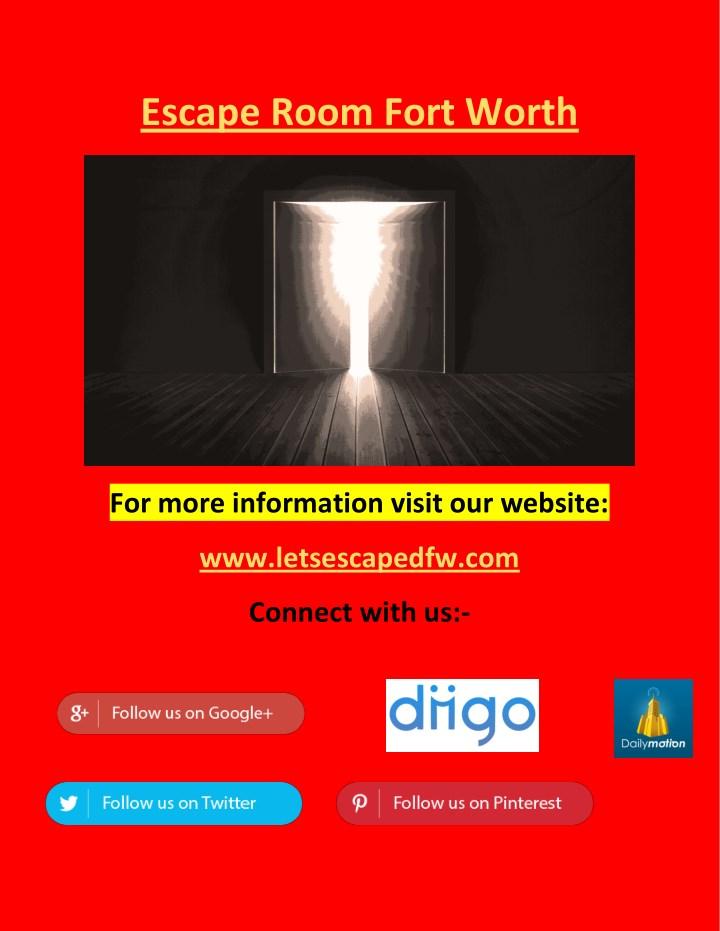 The Escape Room Grapevine