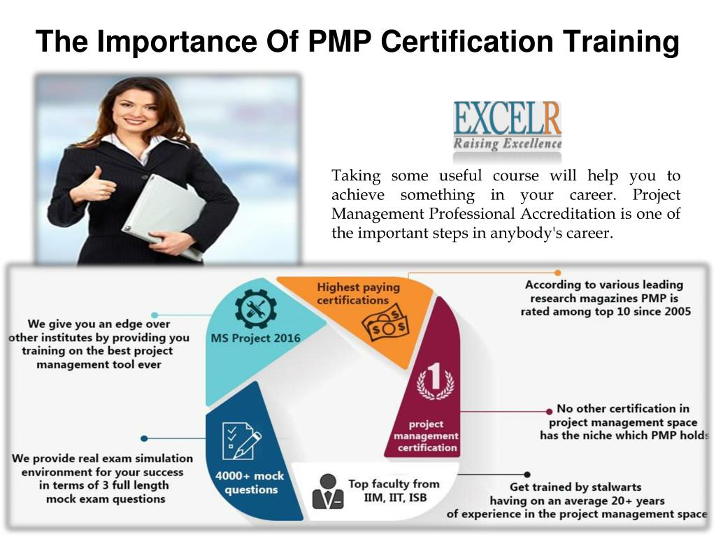 Ppt The Importance Of Pmp Certification Training Powerpoint