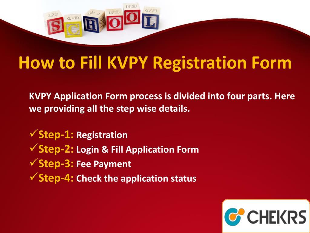 PPT - KVPY Scholarship PowerPoint Presentation - ID:7665812