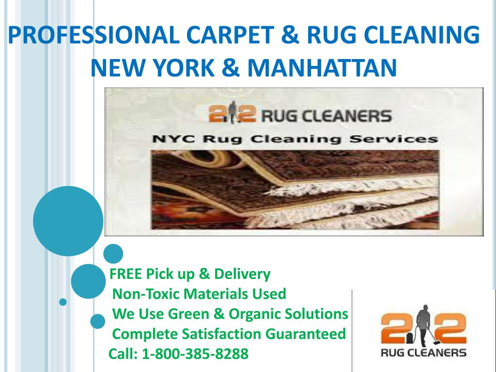 Rug Cleaning Ny Point Presentation
