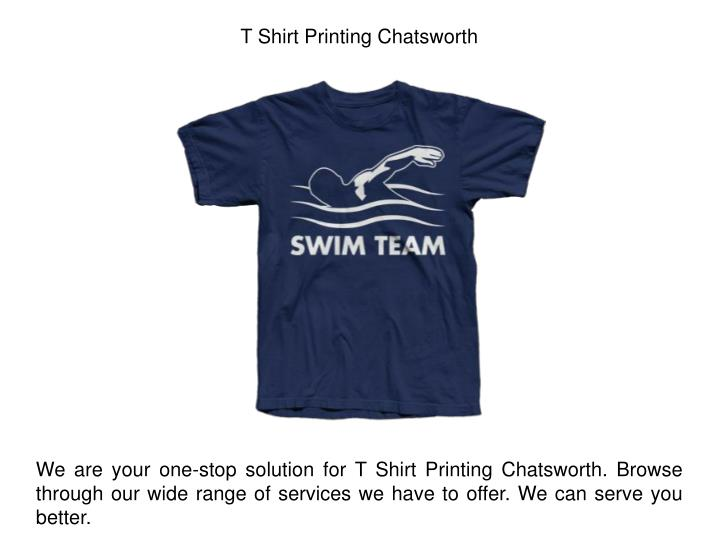 Ppt cheap screen printing company chatsworth ca for Tee shirt printing companies