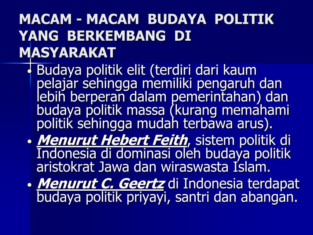 PPT - sistem politik indonesia PowerPoint Presentation ...