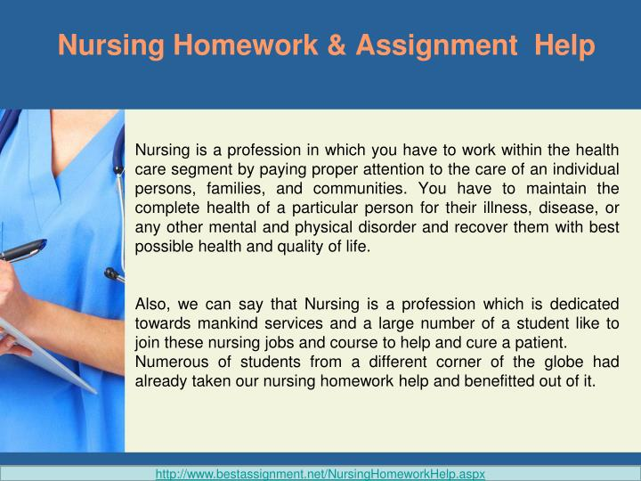 Nursing Assignment Writing Service
