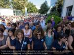 people observe a minute of silence a day after 1