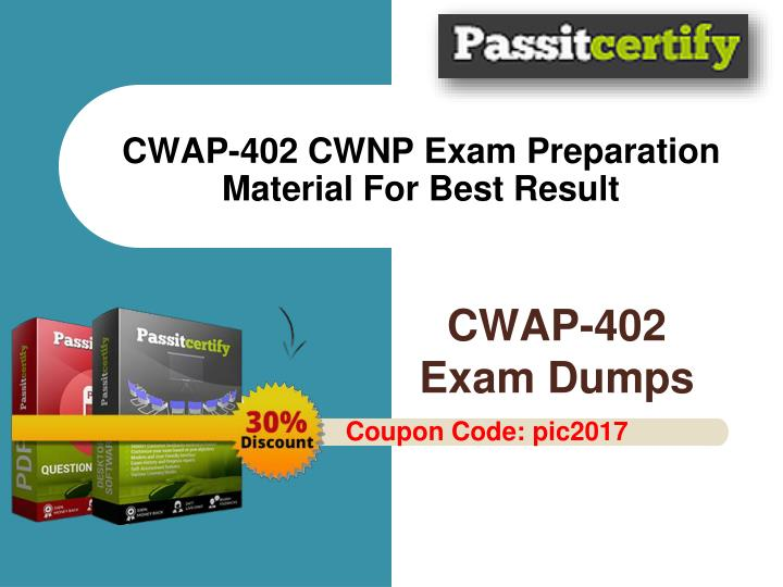 cwap 402 cwnp exam preparation material for best result n.