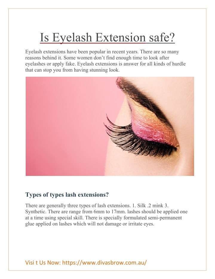 Ppt Is Eyelash Extension Safe Powerpoint Presentation Id7669039