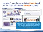 marketo shows b2b can d rive earned and still