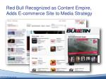 red bull recognized as content e mpire adds