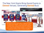 the new york giants bring s ocial e vents