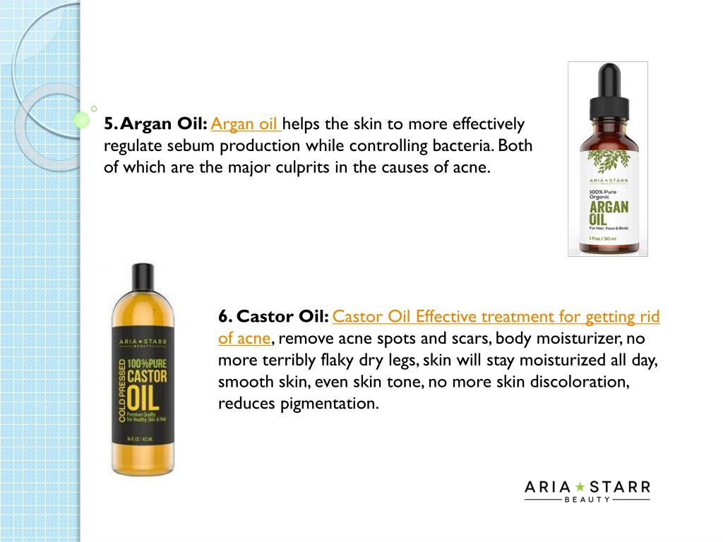 PPT - How to deal with Acne by using these products