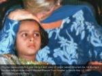 princess diana comforts 5 year old iqra asif