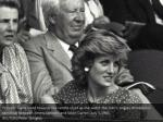 princess diana looks towards the centre court