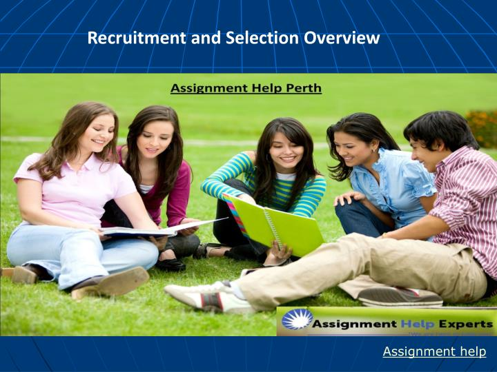 recruitment and selection overview n.