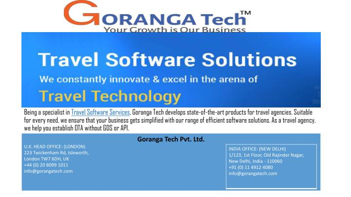 being a specialist in travel software s ervices n.