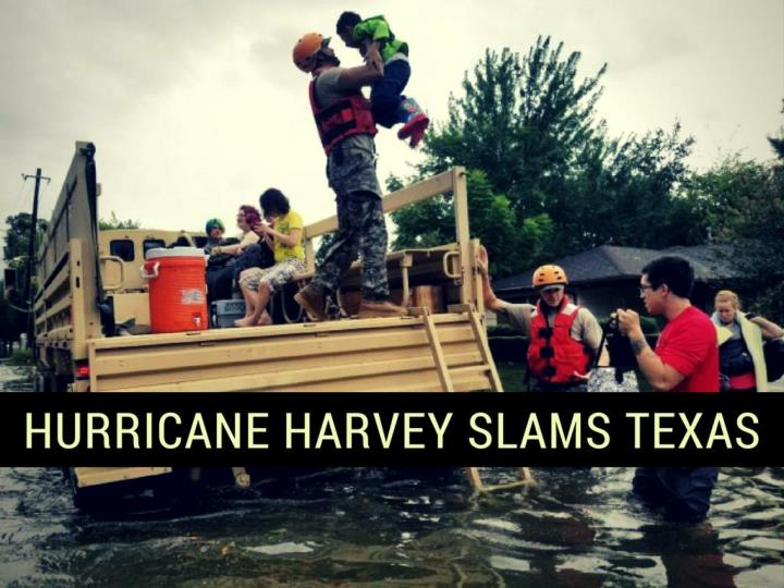 hurricane harvey slams texas n.