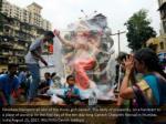 devotees transport an idol of the hindu 1