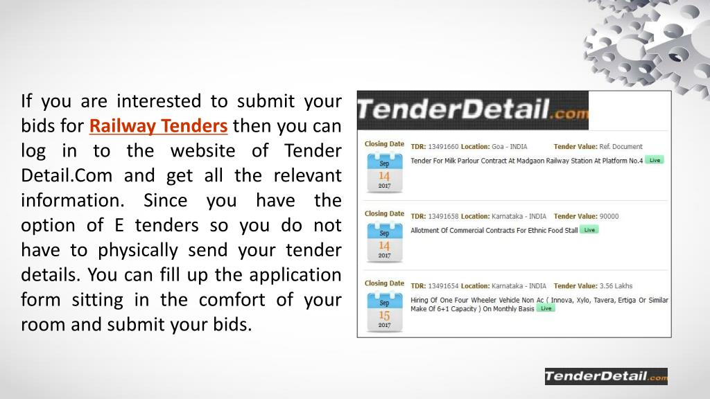 PPT - Reasons for the Growing Popularity of E-Tenders