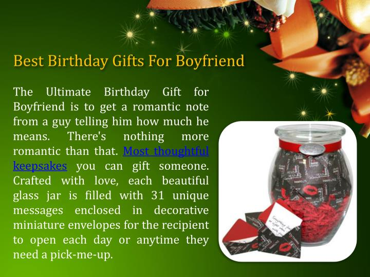Best Birthday Gifts For Boyfriend