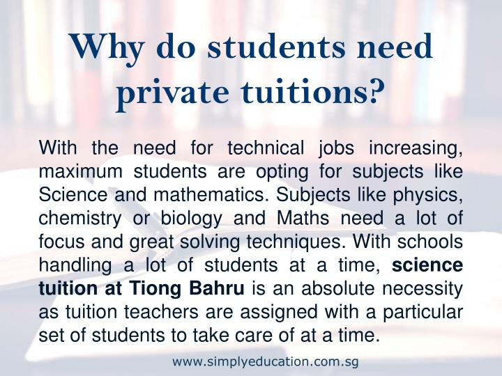 private tuitions are a necessary evil essay Private tuition becomes necessary where the student would not be capable of sitting at his studies by himself because he has no inclination or the parents have no time to look at their child's academic progress.