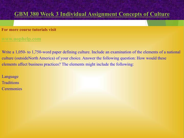 the application of a music assignment to the concepts of culture A hip hop music research paper is an exceptionally interesting task emphasizing on the trends, origin, evolution and the various styles of this genre of music a good research paper in such a subject requires offering an in depth perspective of the subject and presenting as much information as possible to the readers.
