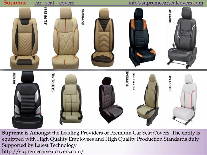 supreme car seat covers info@supremecarseatcovers n.