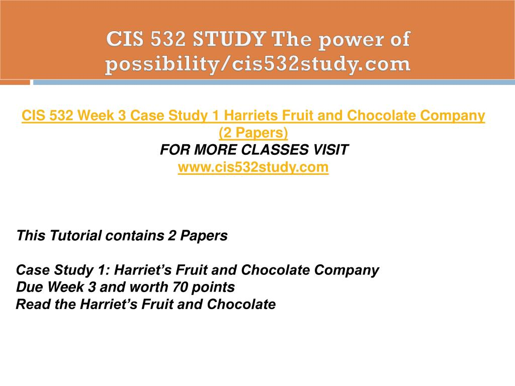 Study Points To Possibility Of >> Ppt Cis 532 Study The Power Of Possibility Cis532study Com