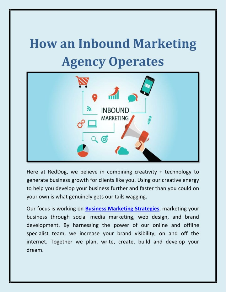 how an inbound marketing agency operates n.