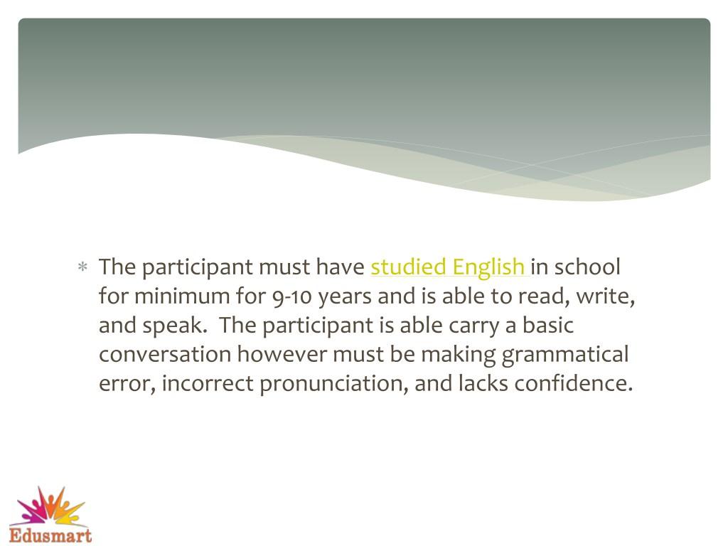 PPT - Everyday English Conversation PowerPoint Presentation