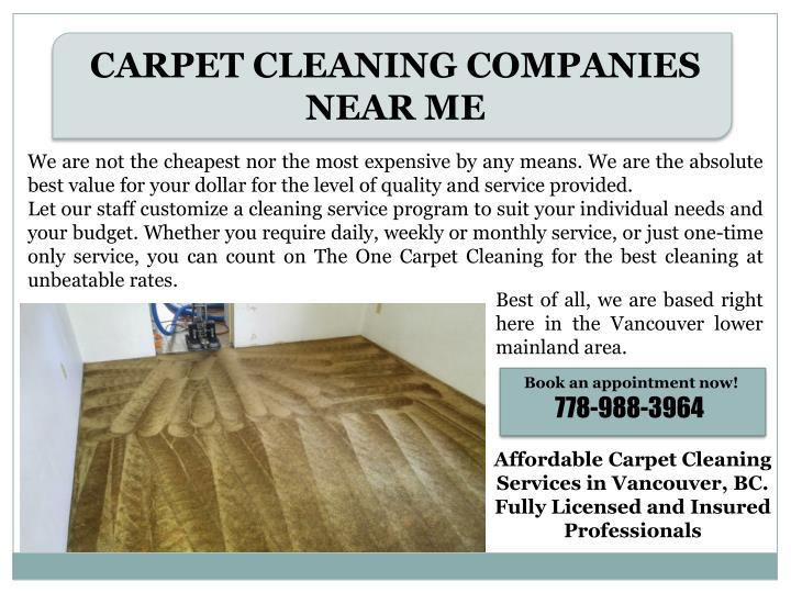 Carpet Cleaning Panies Vancouver Bc Carpet Vidalondon