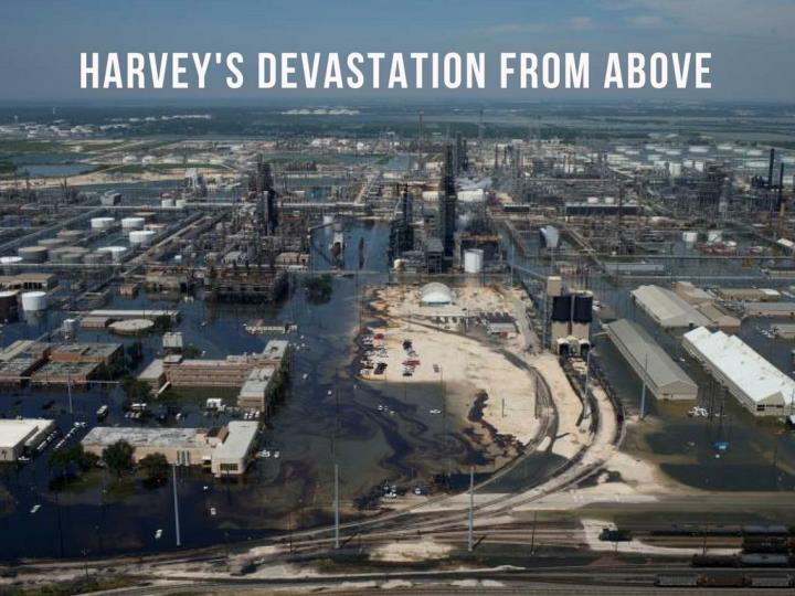 harvey s devastation from above n.