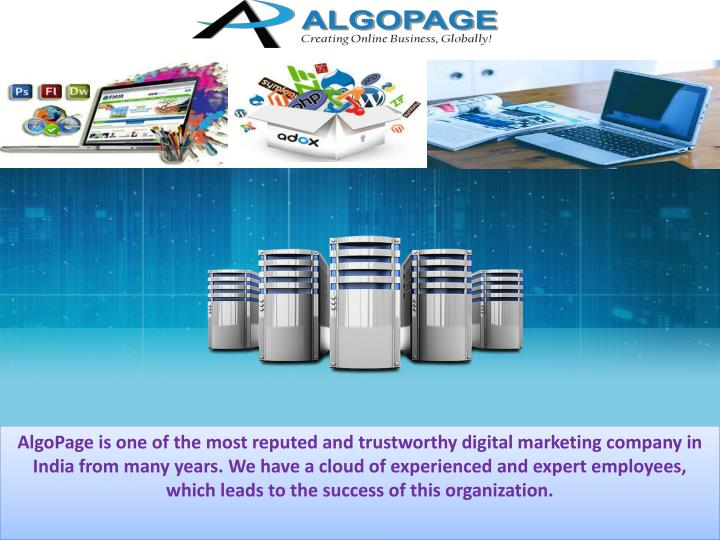 algopage is one of the most reputed n.