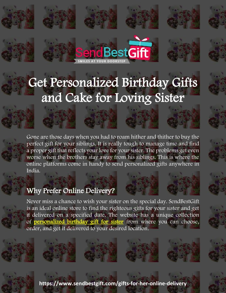 Get Personalized B Birthday Gifts