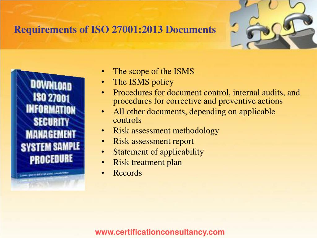 PPT - Presentation on ISO 27001 Information Security Management