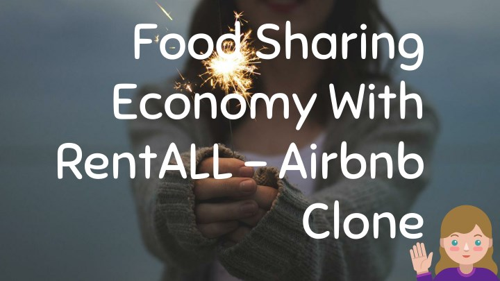 food sharing economy with rentall airbnb n.