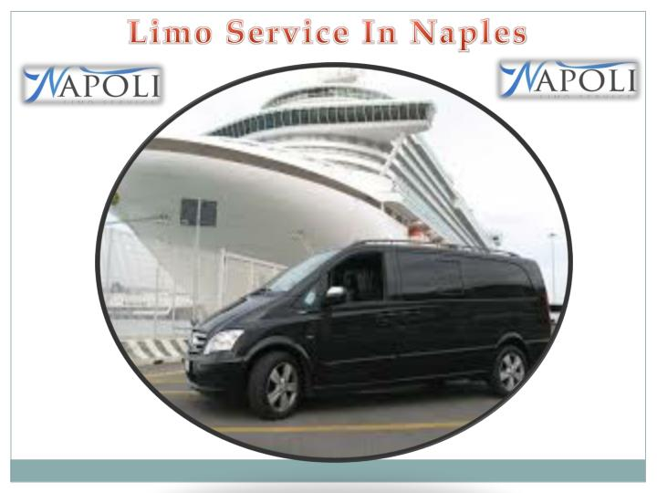 limo service in naples n.