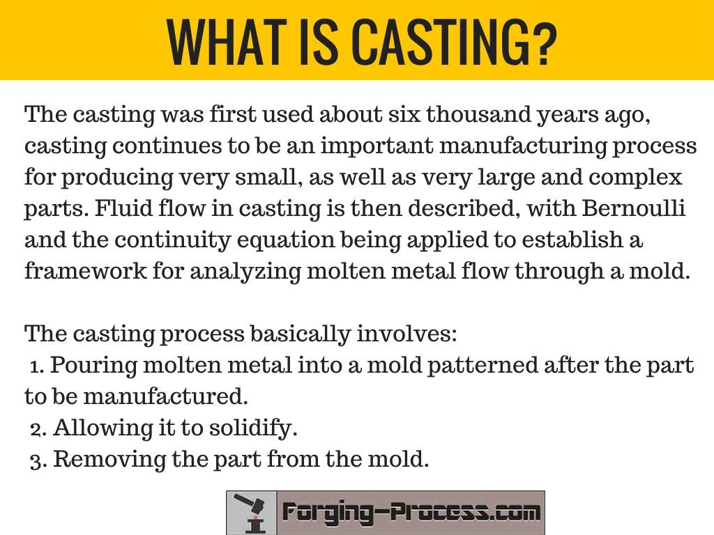 PPT - Casting vs Forging PowerPoint Presentation - ID:7679090