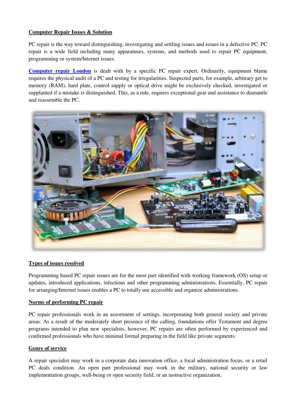 Ppt Computer Repair Issues Solution Powerpoint Presentation Free Download Id 7680021