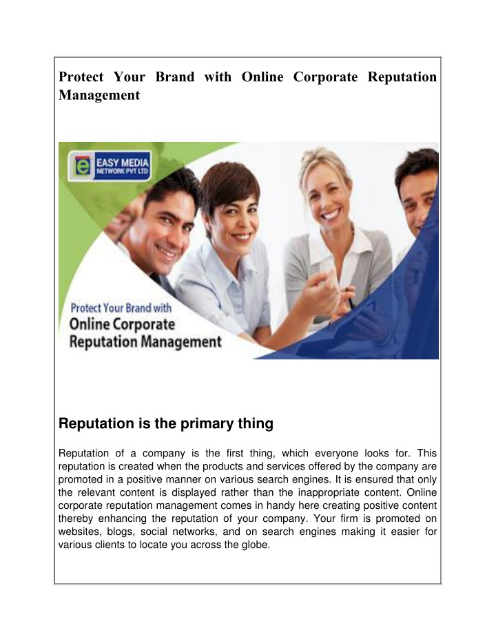 protect your brand with online corporate n.