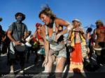 a participant dances reuters jim urquhart