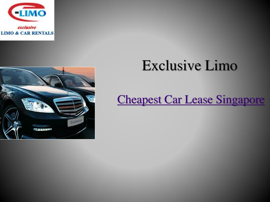 Cheapest Cars To Lease >> Ppt Looking For Cheapest Car Lease Service In Singapore