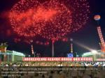 pyongyang city civilians celebrate the successful