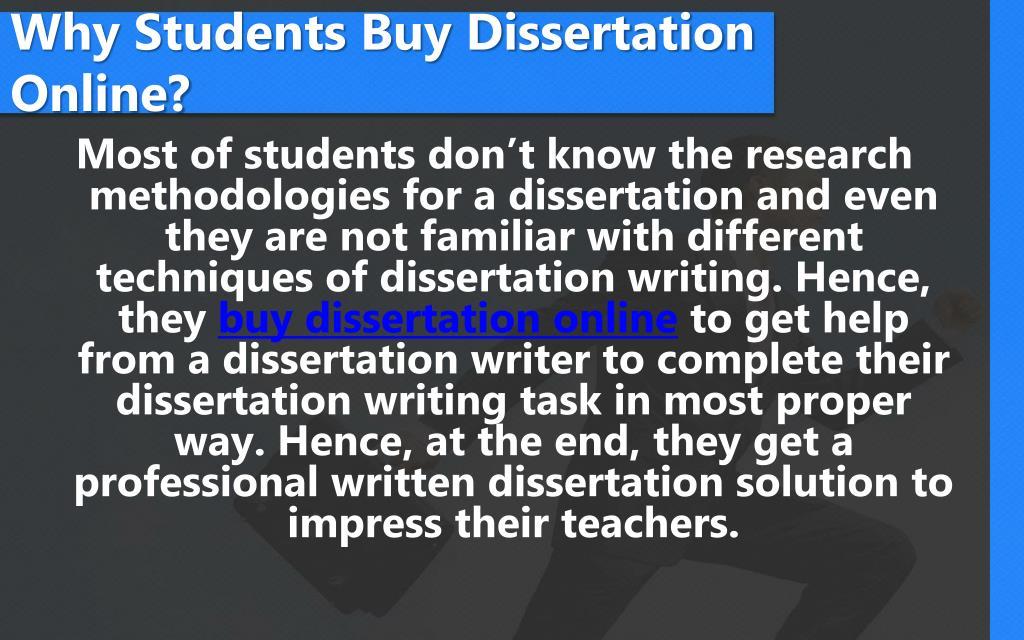 Buy A Dissertation Online Survey