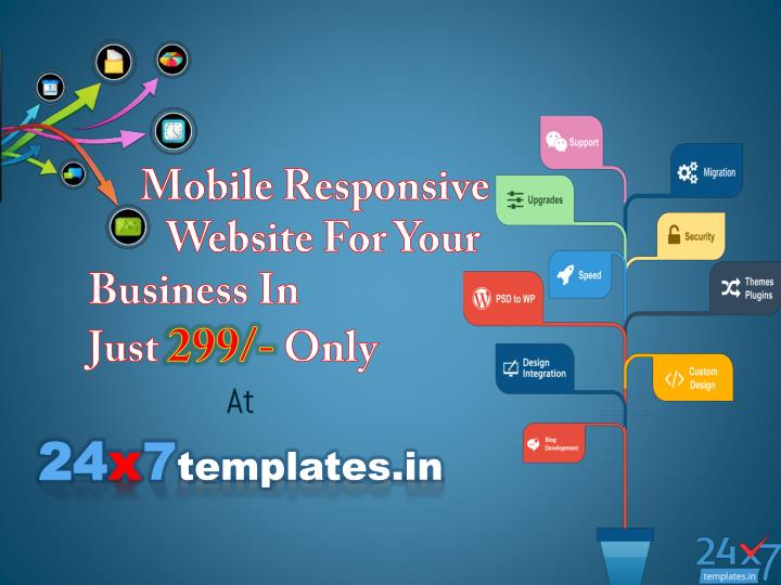 mobile responsive website for your business in just 299 only n.