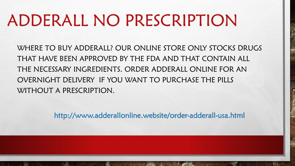 PPT - Buy Adderall Online in Legally way from All in USA