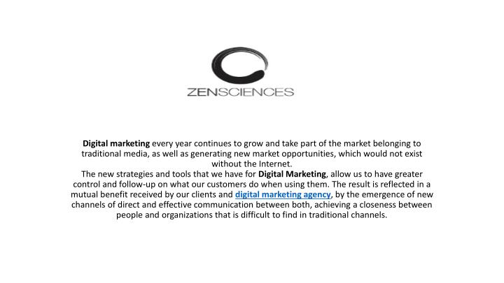 digital marketing every year continues to grow n.