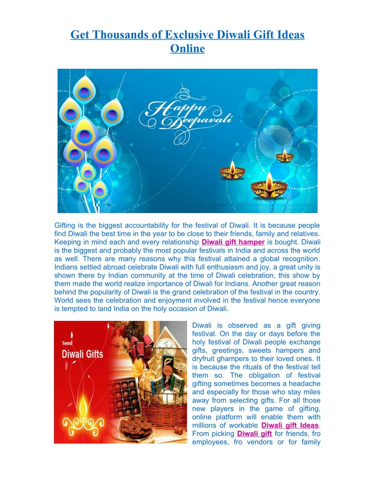get thousands of exclusive diwali gift ideas n.