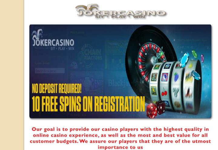 our goal is to provide our casino players with n.