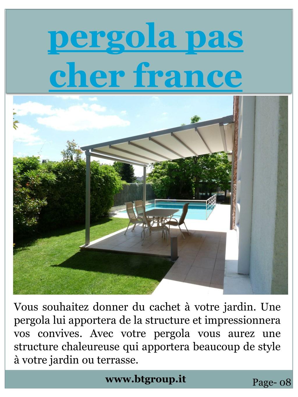 Grande Pergola Pas Cher ppt - pergola en bois france powerpoint presentation, free