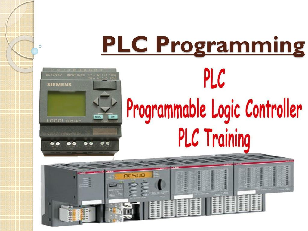 PPT - PLC programming For Allen Bradley and Siemens | Sage