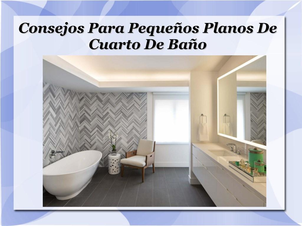 PPT - Consejos Para Pequeños Planos De Cuarto De Baño PowerPoint ...